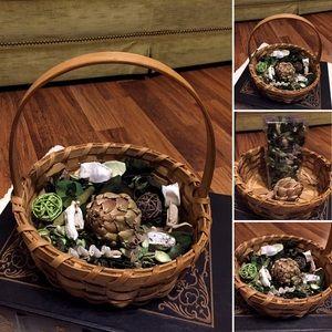 🦋2/$10 3/$15 4/$18 5/$20 Vintage Potpourri Basket